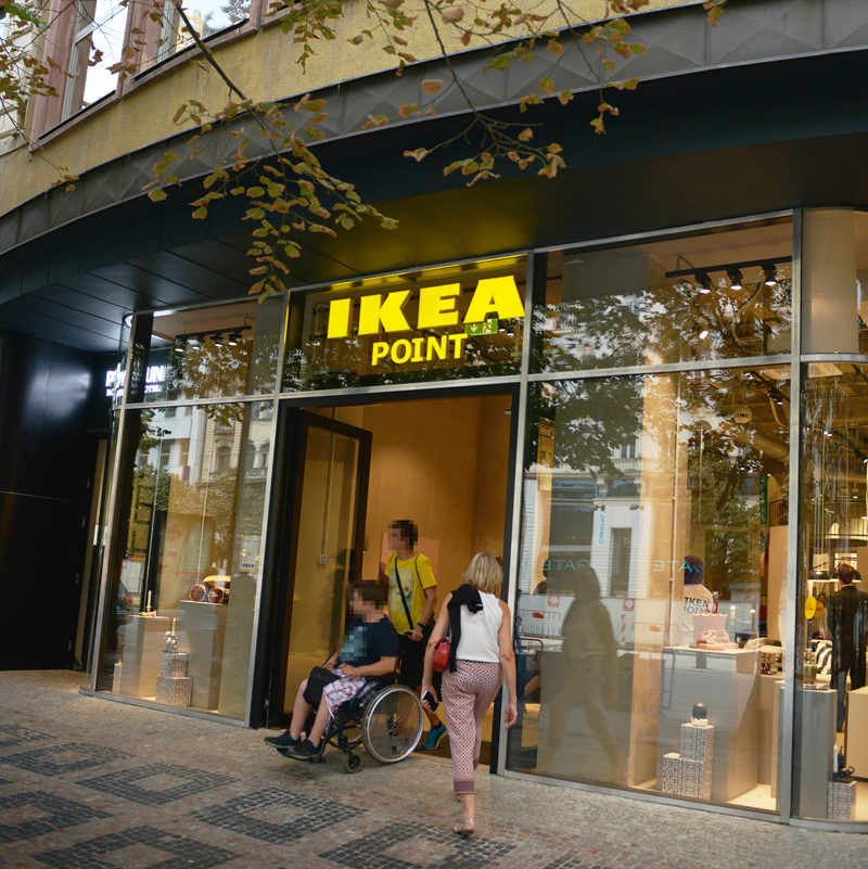 IKEA point is a new format for selling furniture in Europe.